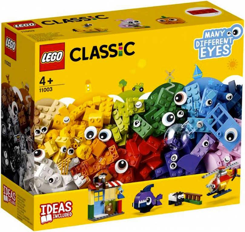 LEGO CLASSIC Kostky s očima 11003 STAVEBNICE