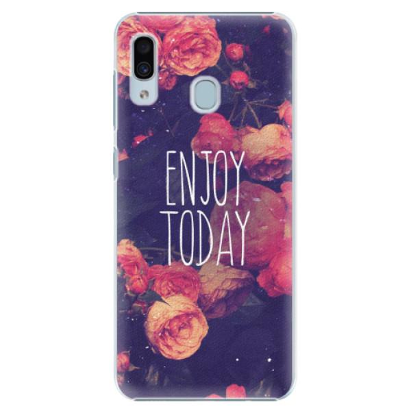 Plastové pouzdro iSaprio - Enjoy Today - Samsung Galaxy A30