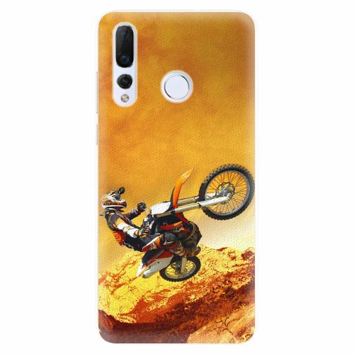 Silikonové pouzdro iSaprio - Motocross - Huawei Nova 4
