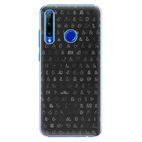 Plastový kryt iSaprio - Ampersand 01 - Huawei Honor 20 Lite