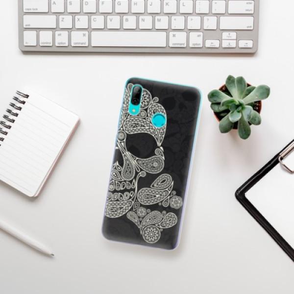 Odolné silikonové pouzdro iSaprio - Mayan Skull - Huawei P Smart 2019