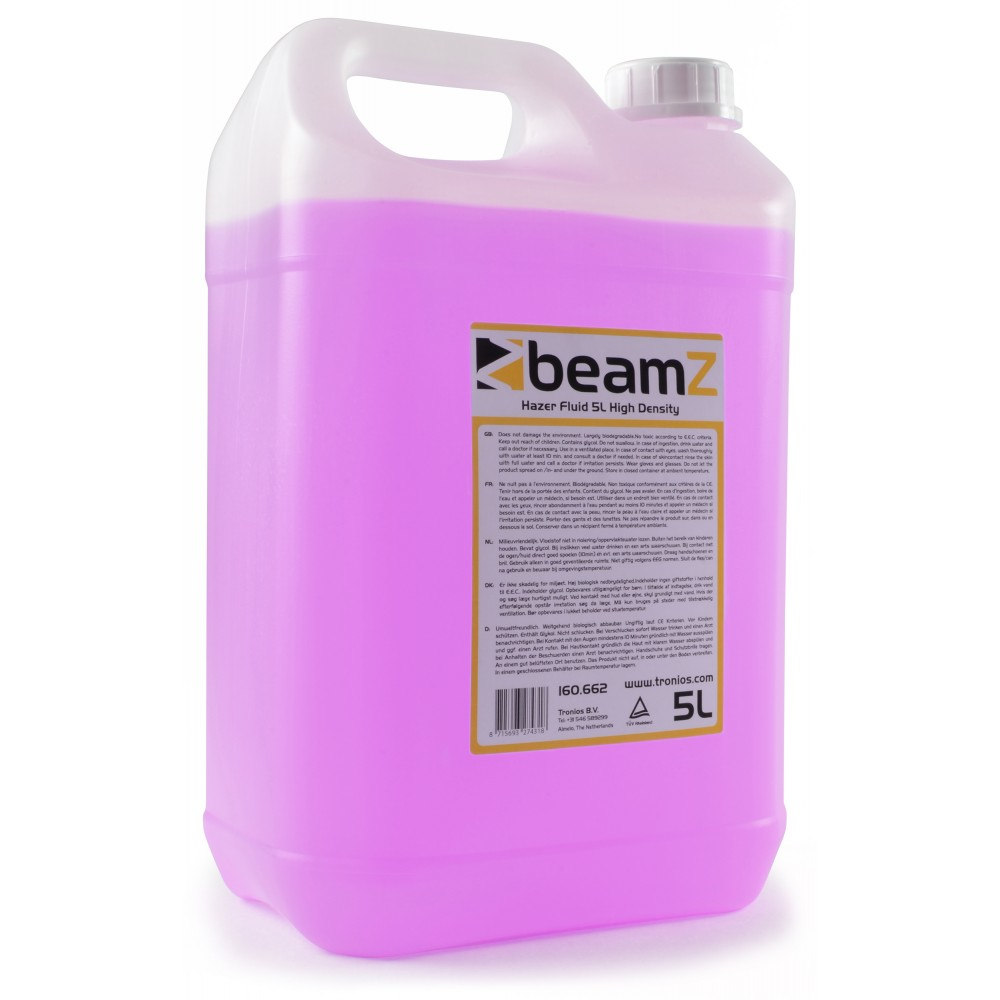 BeamZ náplň do hazeru, high density, 5L