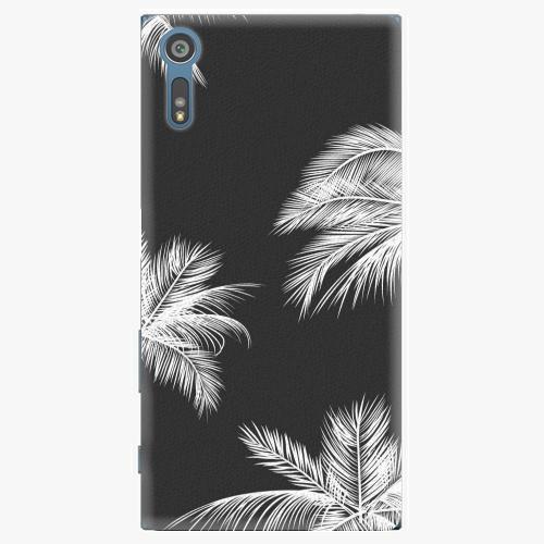 Plastový kryt iSaprio - White Palm - Sony Xperia XZ