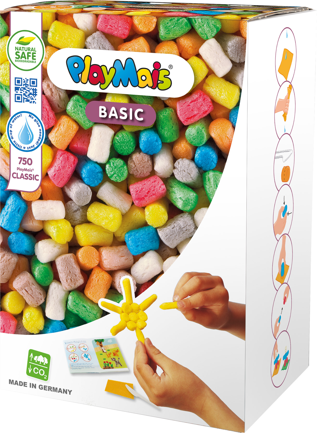Small Foot PLAYMais® Basic velká 750 ks