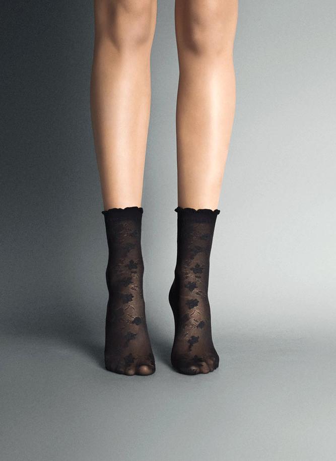 Dámské ponožky Veneziana Alena - Odstín béžové/univerzální