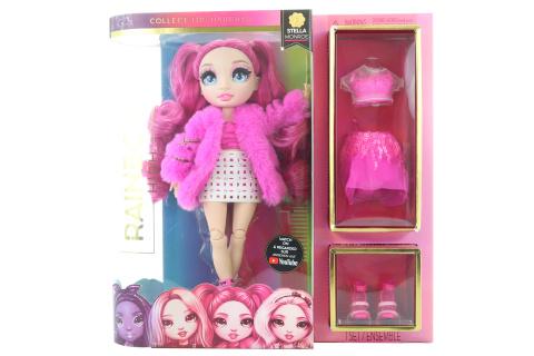 Rainbow High Fashion panenka - Stella Monroe (purpurová)