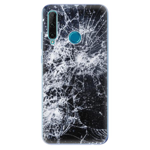 Odolné silikonové pouzdro iSaprio - Cracked - Honor 20e