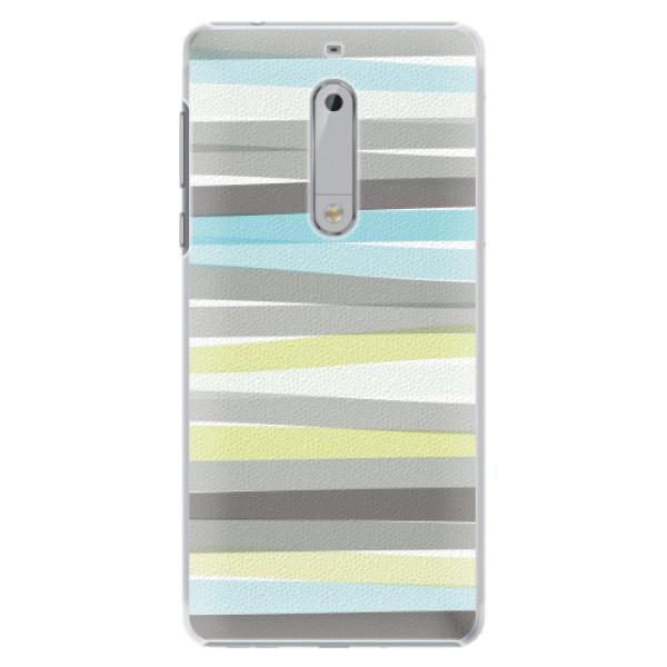 Plastové pouzdro iSaprio - Stripes - Nokia 5