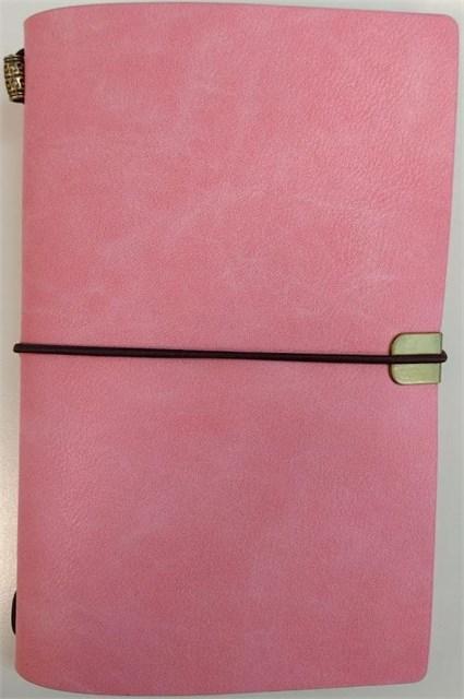 ALBI - Růžový luxusní diář
