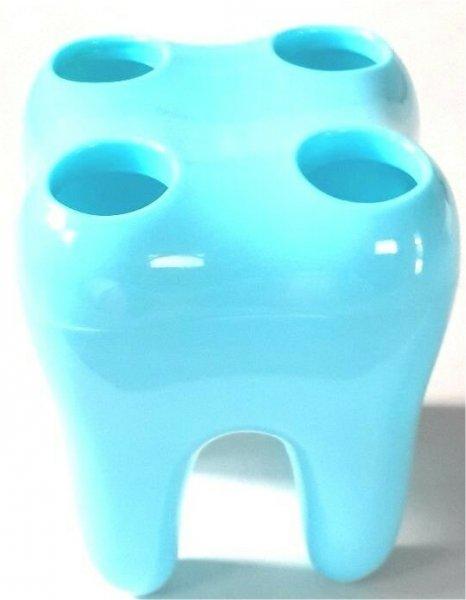 Zubní držák kartáčků - Modrá