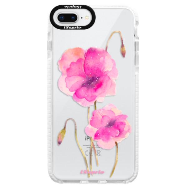 Silikonové pouzdro Bumper iSaprio - Poppies 02 - iPhone 8 Plus