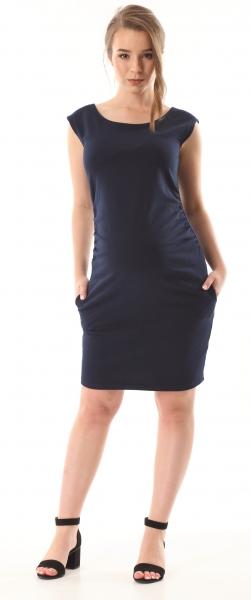 Gregx Elegantní těhotenské šaty bez rukávů