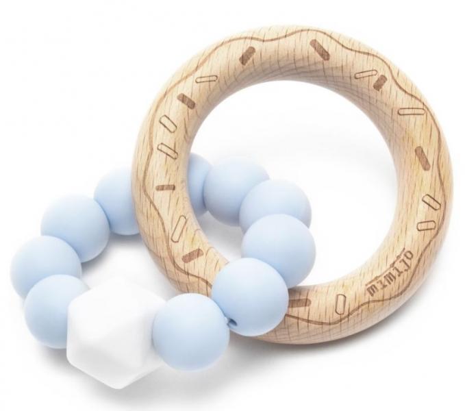 mimijo-silikonove-kousatko-donut-modre
