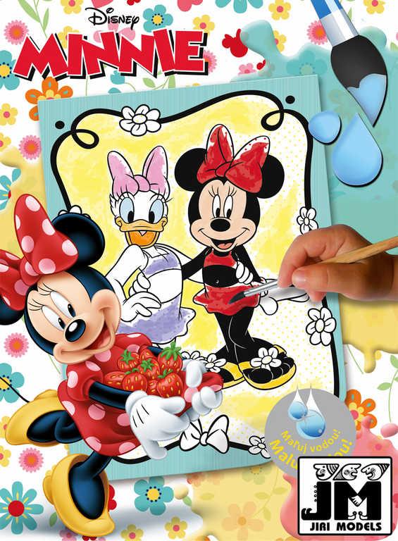 JIRI MODELS Omalovánky Maluj vodou! Disney Minnie Mouse