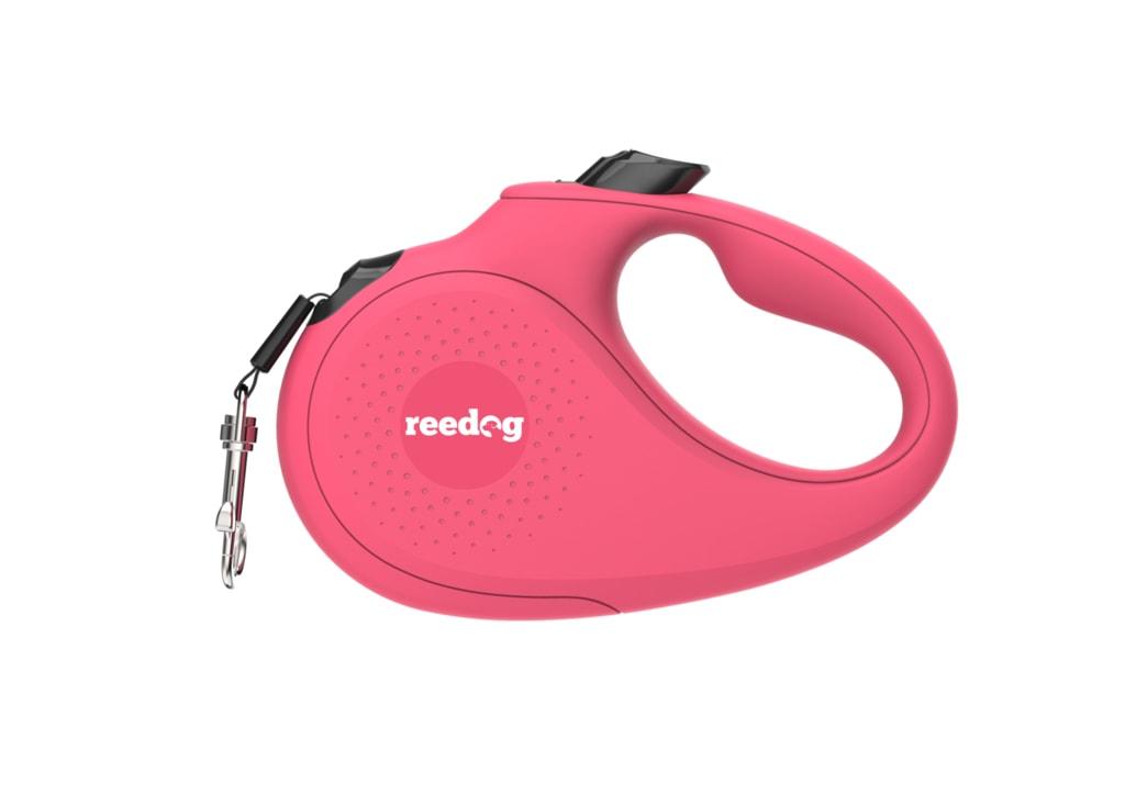 Reedog Senza Basic samonavíjecí vodítko S 15kg / 5m páska / růžové