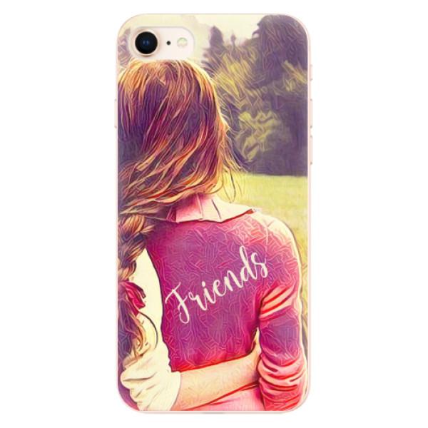Odolné silikonové pouzdro iSaprio - BF Friends - iPhone 8