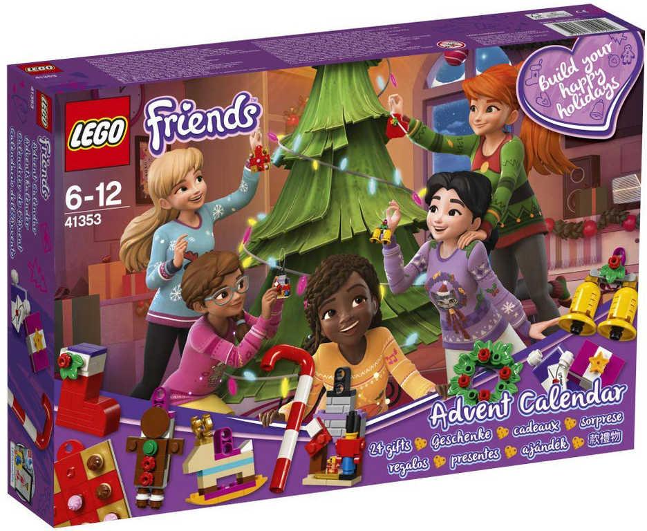 LEGO FRIENDS Adventní kalendář 41353 STAVEBNICE
