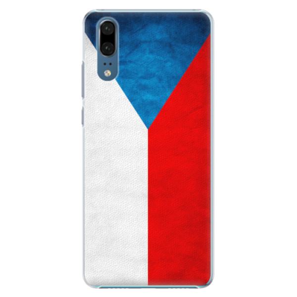 Plastové pouzdro iSaprio - Czech Flag - Huawei P20