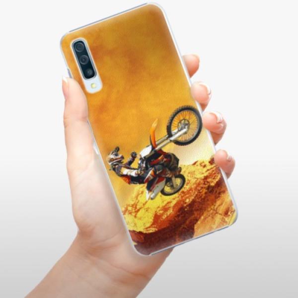 Plastové pouzdro iSaprio - Motocross - Samsung Galaxy A50