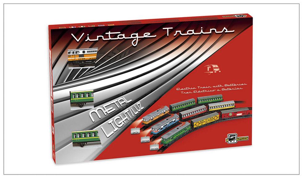 MERCHANDISES TRAIN - historický nákladní vlak