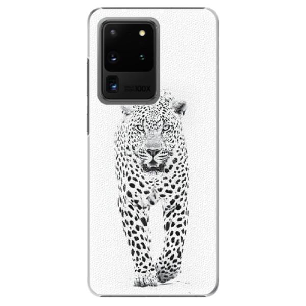 Plastové pouzdro iSaprio - White Jaguar - Samsung Galaxy S20 Ultra