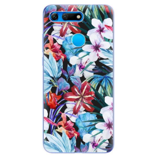 Odolné silikonové pouzdro iSaprio - Tropical Flowers 05 - Huawei Honor View 20