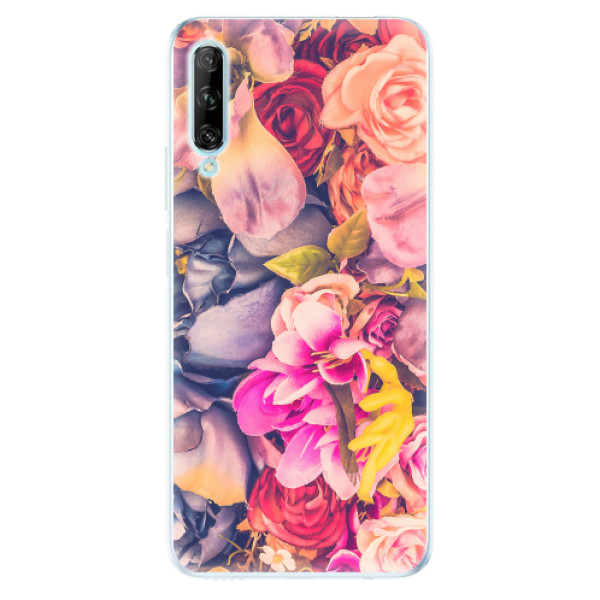 Odolné silikonové pouzdro iSaprio - Beauty Flowers - Huawei P Smart Pro