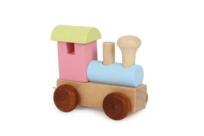 Small Foot Vláček barevná lokomotiva