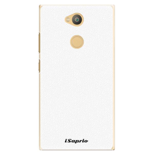 Plastové pouzdro iSaprio - 4Pure - bílý - Sony Xperia L2