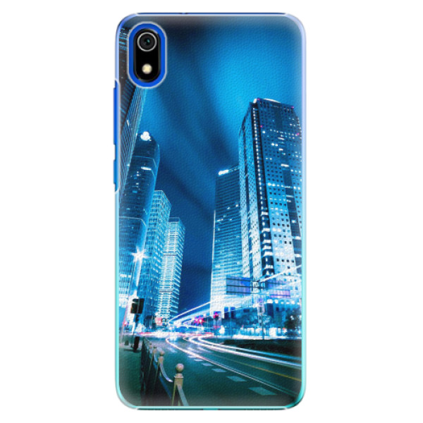 Plastové pouzdro iSaprio - Night City Blue - Xiaomi Redmi 7A