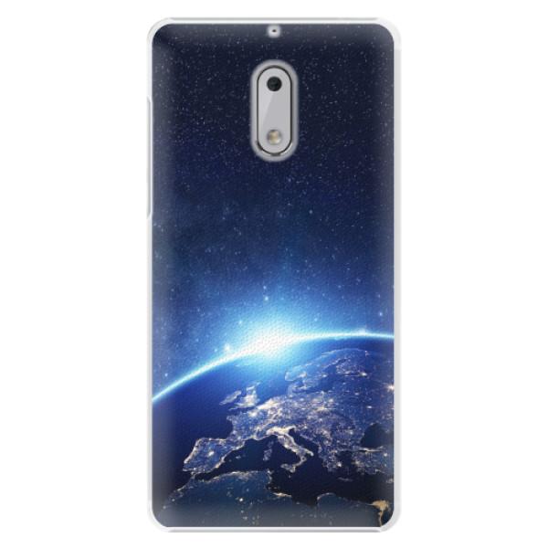 Plastové pouzdro iSaprio - Earth at Night - Nokia 6