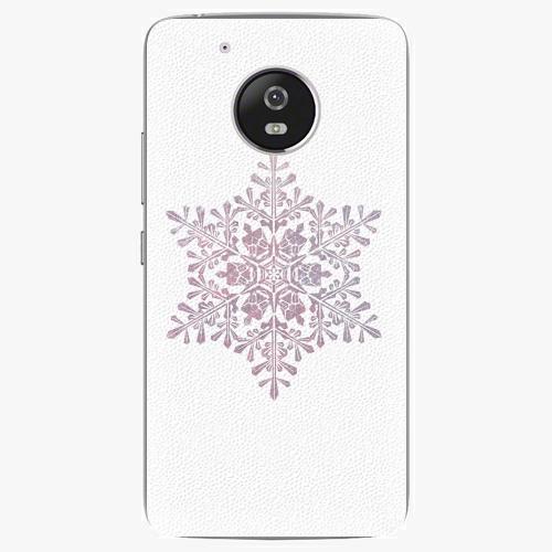 Plastový kryt iSaprio - Snow Flake - Lenovo Moto G5