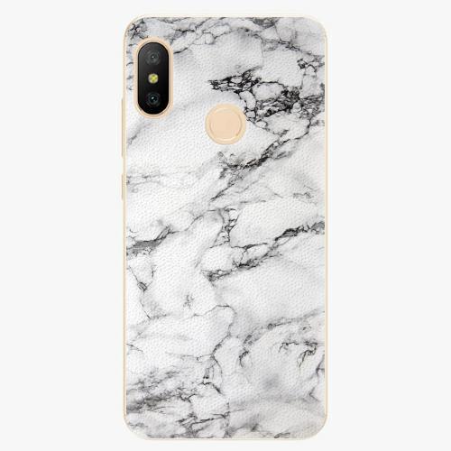 Silikonové pouzdro iSaprio - White Marble 01 - Xiaomi Mi A2 Lite