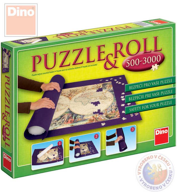 DINO Rolovací podložka skladovací na puzzle