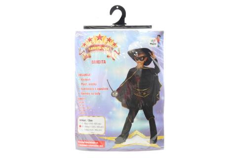 Šaty - Bandita, 120 - 130 cm