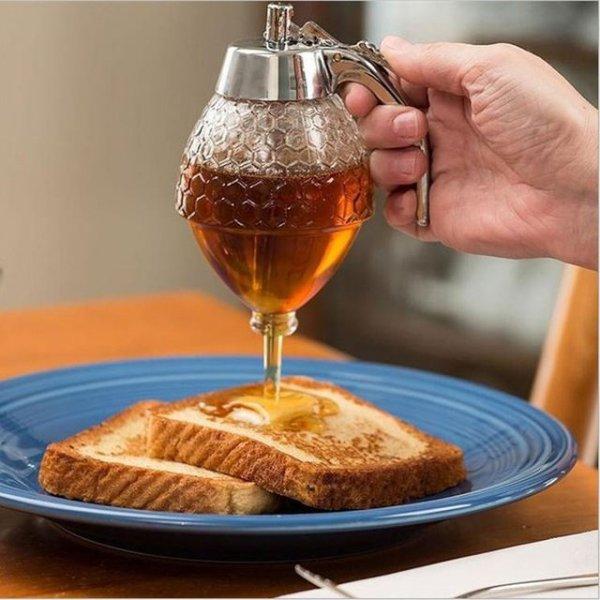 Nádoba na dávkování medu