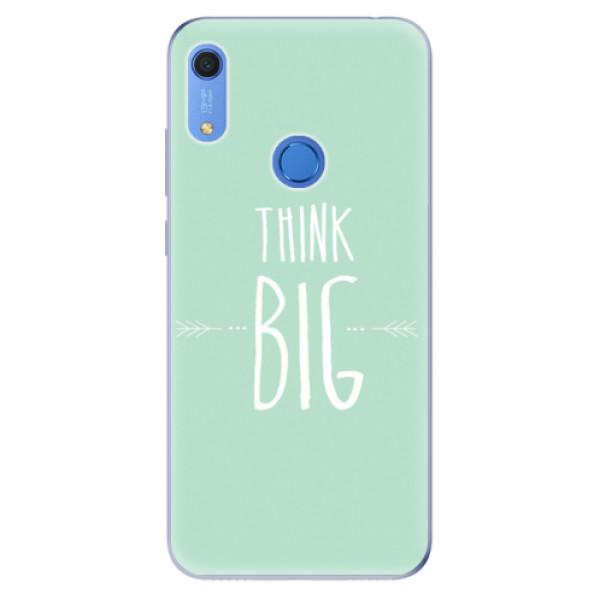 Odolné silikonové pouzdro iSaprio - Think Big - Huawei Y6s