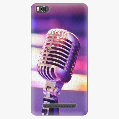 Plastový kryt iSaprio - Vintage Microphone - Xiaomi Mi4C
