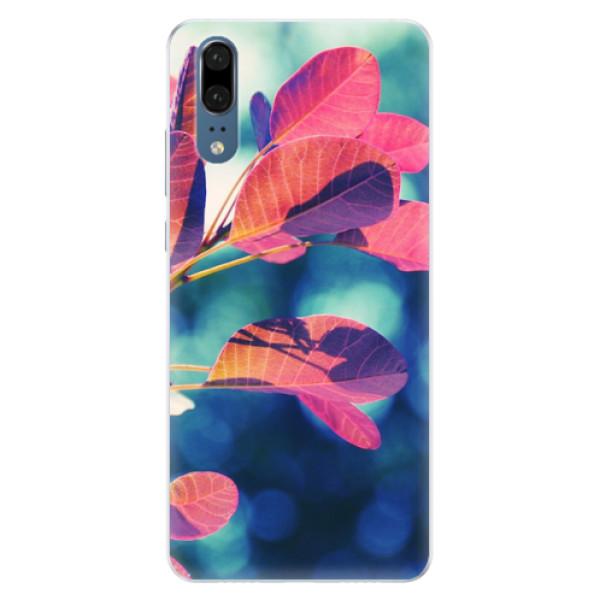 Silikonové pouzdro iSaprio - Autumn 01 - Huawei P20