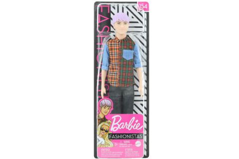 Barbie Model Ken - fialové vlasy GHW70