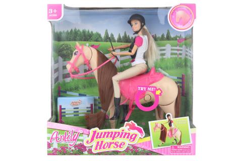 Kůň skákací s panenkou