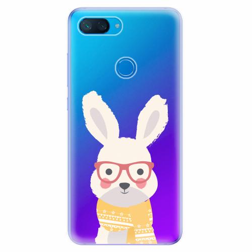 Silikonové pouzdro iSaprio - Smart Rabbit - Xiaomi Mi 8 Lite