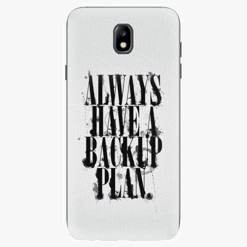 Plastový kryt iSaprio - Backup Plan - Samsung Galaxy J7 2017