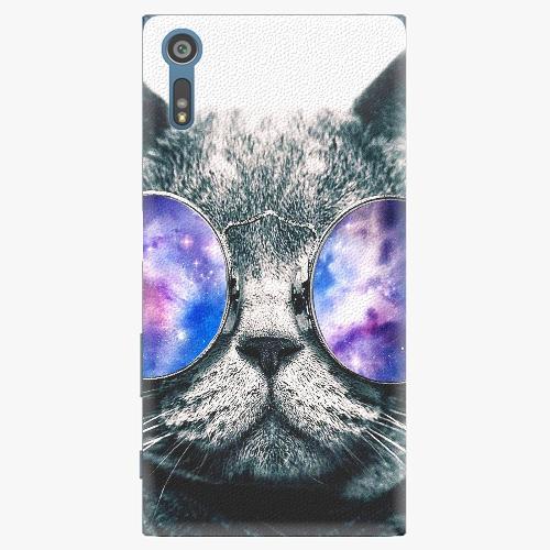 Plastový kryt iSaprio - Galaxy Cat - Sony Xperia XZ