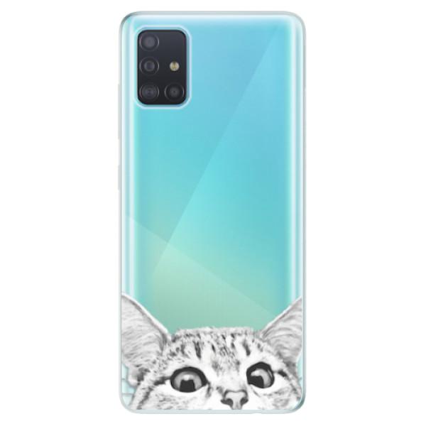 Odolné silikonové pouzdro iSaprio - Cat 02 - Samsung Galaxy A51