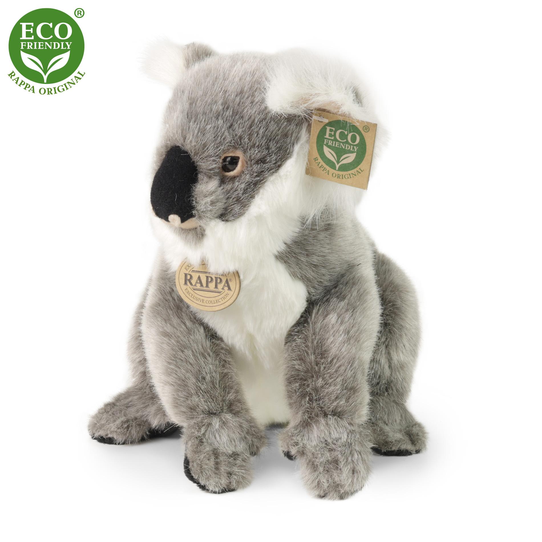 Plyšová koala stojící 25 cm ECO-FRIENDLY