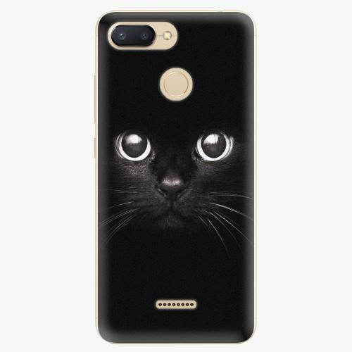 Silikonové pouzdro iSaprio - Black Cat - Xiaomi Redmi 6