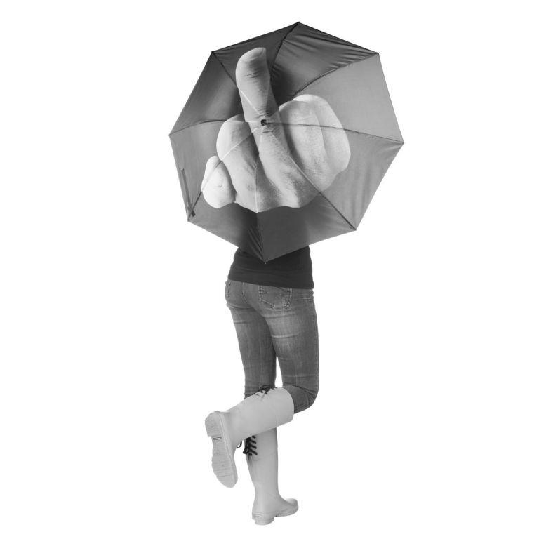 """Deštník s motivem """"Fuck the Rain"""", průměr 100 cm"""