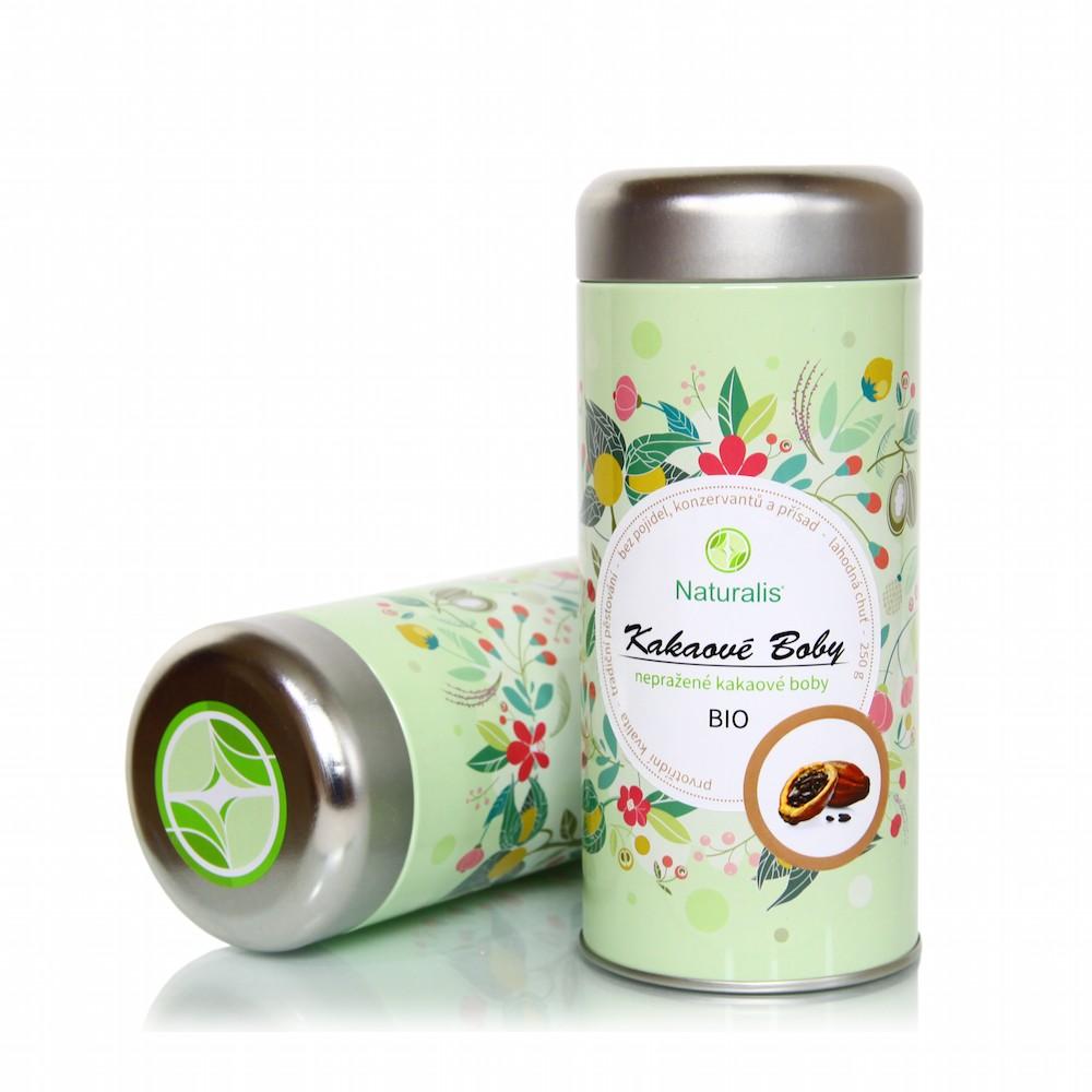 Kakaové Boby Naturalis BIO - 250g + prodloužená záruka na vrácení zboží