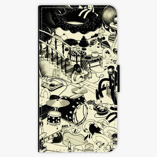 Flipové pouzdro iSaprio - Underground - Samsung Galaxy J7 2016